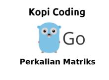Program Perkalian Matriks di Go (Golang)