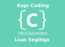 Program Menghitung Luas Segitiga Bahasa C
