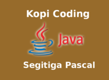 Program Segitiga Pascal Java