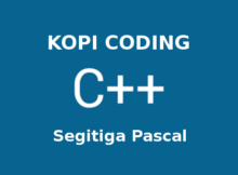 Program Segitiga Pascal C++