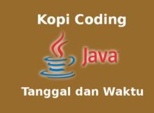 Program Menampilkan Tanggal Dan Waktu Dengan Java