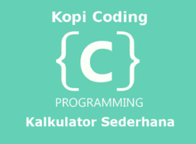 Program Kalkulator Sederhana Bahasa C