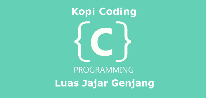 Program Menghitung Luas Jajar Genjang Bahasa C