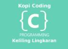 Program Menghitung Keliling Lingkaran Bahasa C