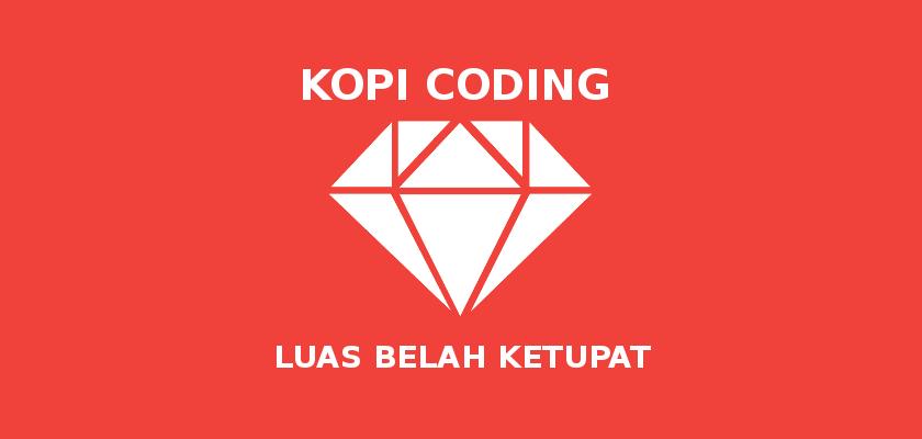 Program Menghitung Luas Belah Ketupat Di Ruby