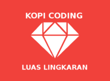Program Menghitung Luas Lingkaran di Ruby