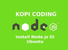 Install Node.js Di Ubuntu