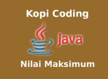 Program Mencari Nilai Maksimum Array Bahasa Java