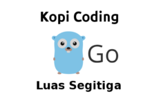 Program Menghitung Luas Segitiga Bahasa Go (Golang)