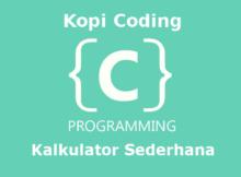 Program Kalkulator Sederhana Bahasa C